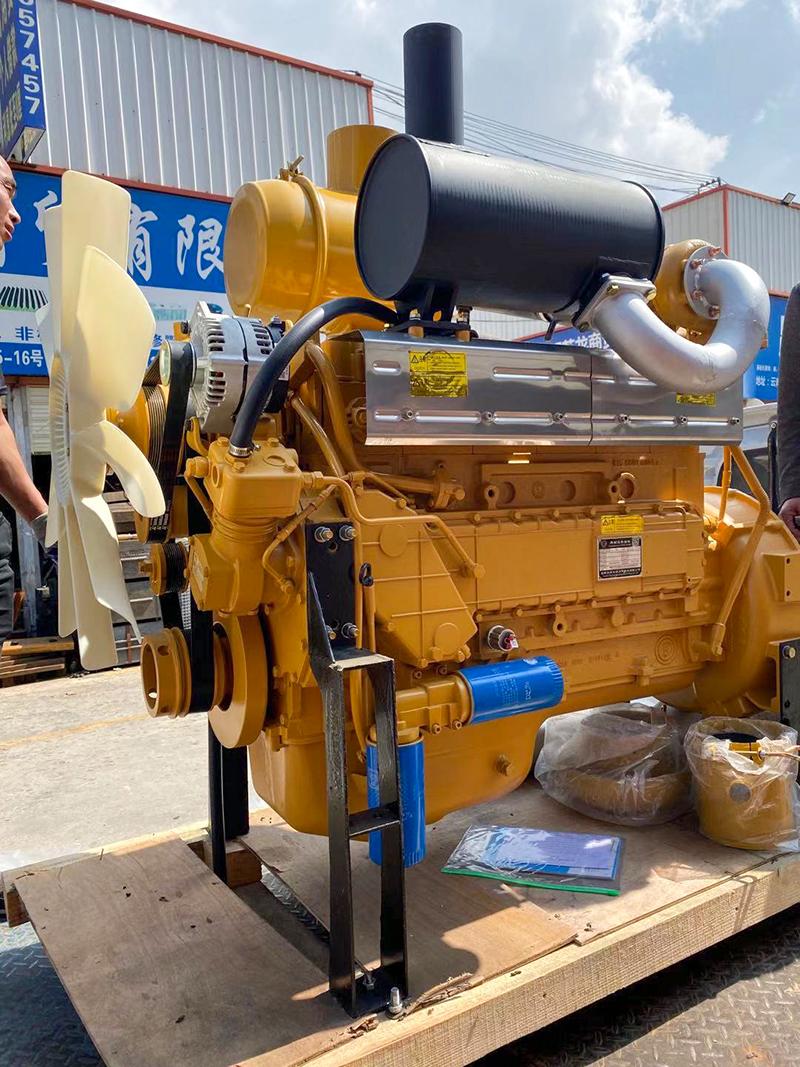 潍柴D10国三220马力装载机发动机总成
