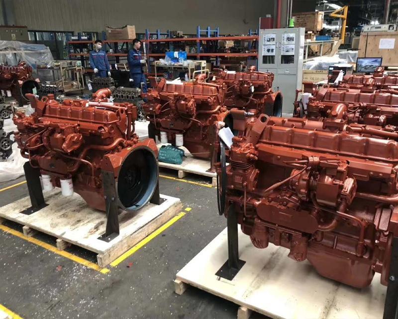 发动机生产车间展示