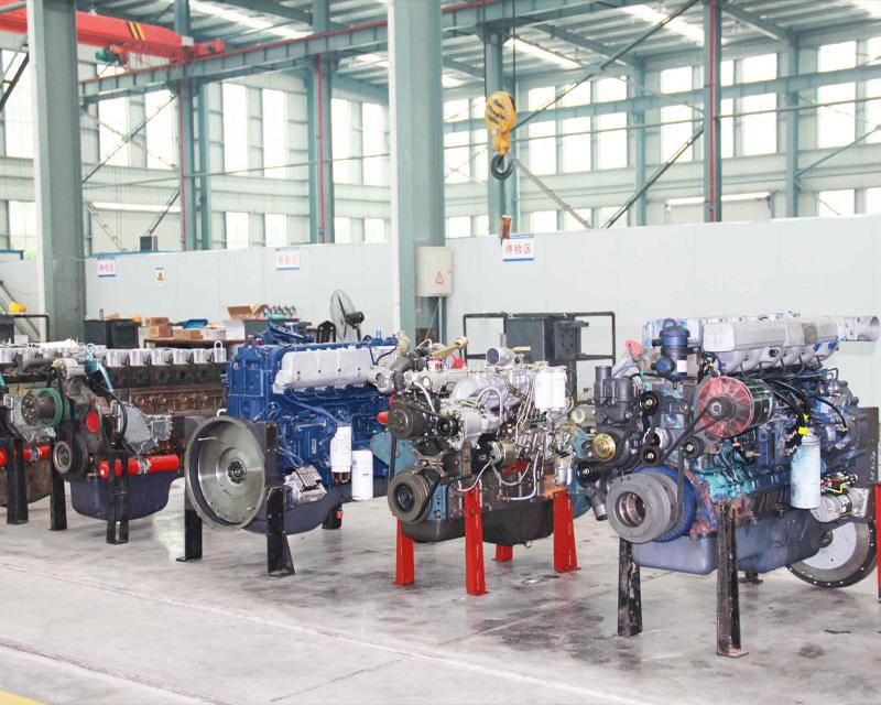 厂家发动机生产车间