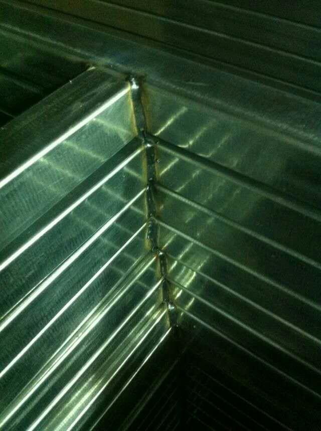 昆明桁架焊接点展示