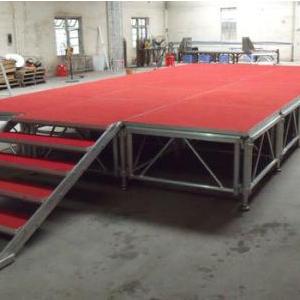 桁架舞台红毯效果图