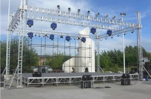 昆明舞台桁架厂家之舞台搭建结构图