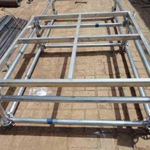 舞台桁架结构图