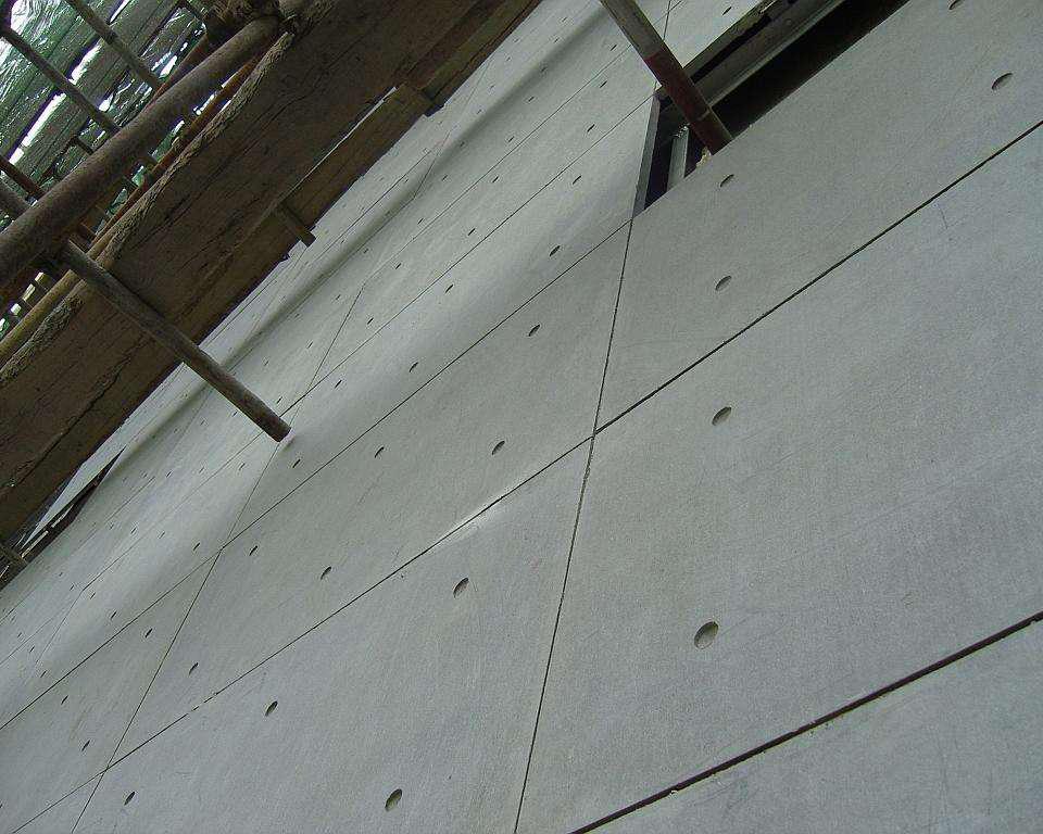 温石棉纤维水泥防火板