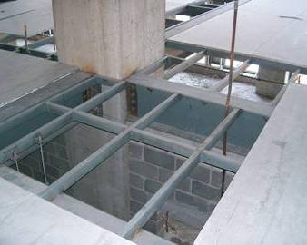 齐齐哈尔鞋城LOFT防火板现场施工