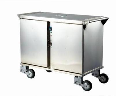 移动式不锈钢餐车