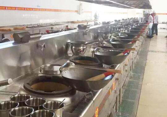 新东方厨房设备施工案例