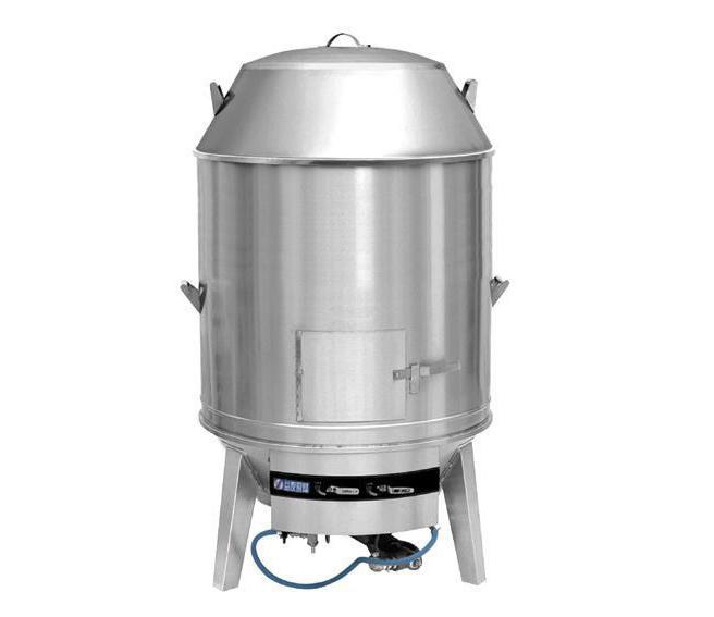 桶式烤鸭炉