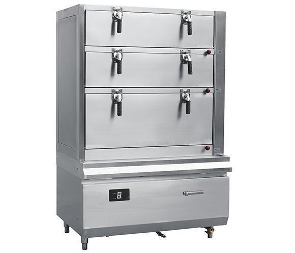 不锈钢海鲜蒸柜