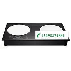 电陶炉+小炒炉 3.5KW 液晶显示 无排风(含汤桶+炒锅)