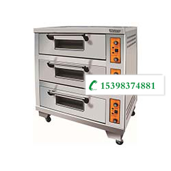 云南不锈钢厨房设备-三层三盘烤箱