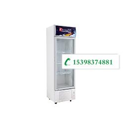 昆明厨房设备-单门展示柜(白边框)