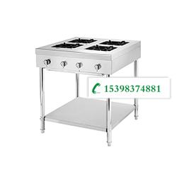昆明不銹鋼廚具廠-四頭低壓煲仔爐
