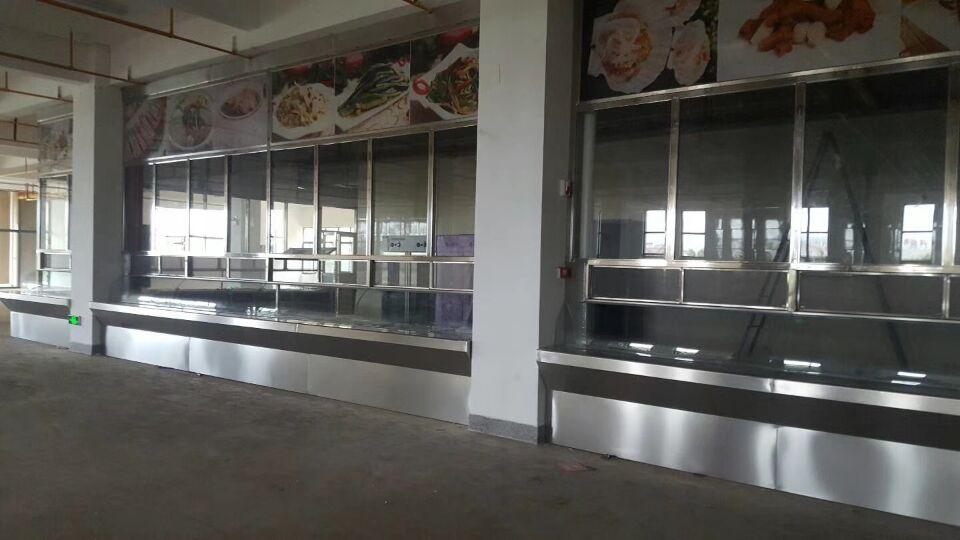 工程案例——食堂廚房設備
