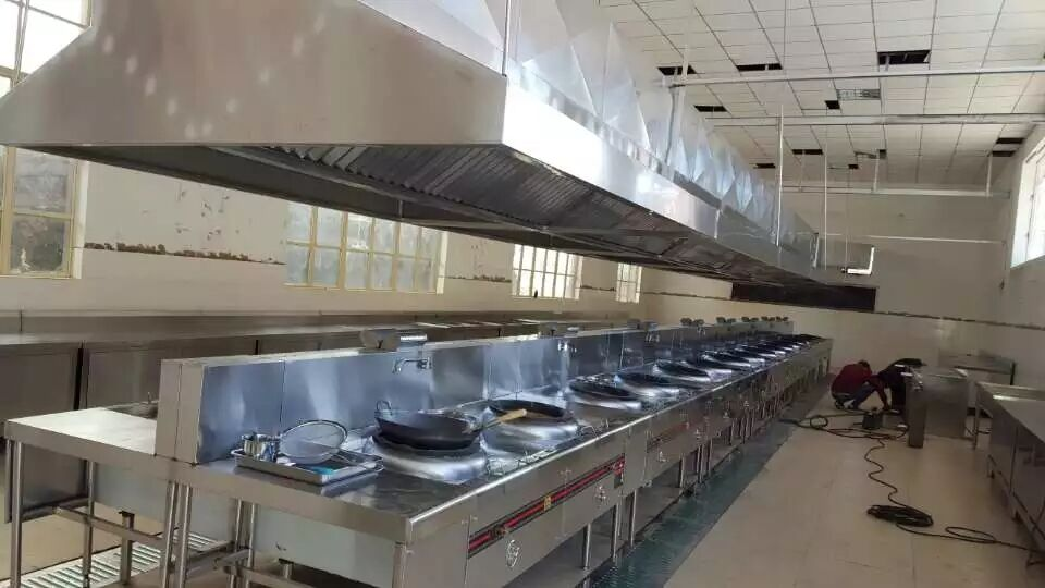 工程案例——餐廳廚房設備