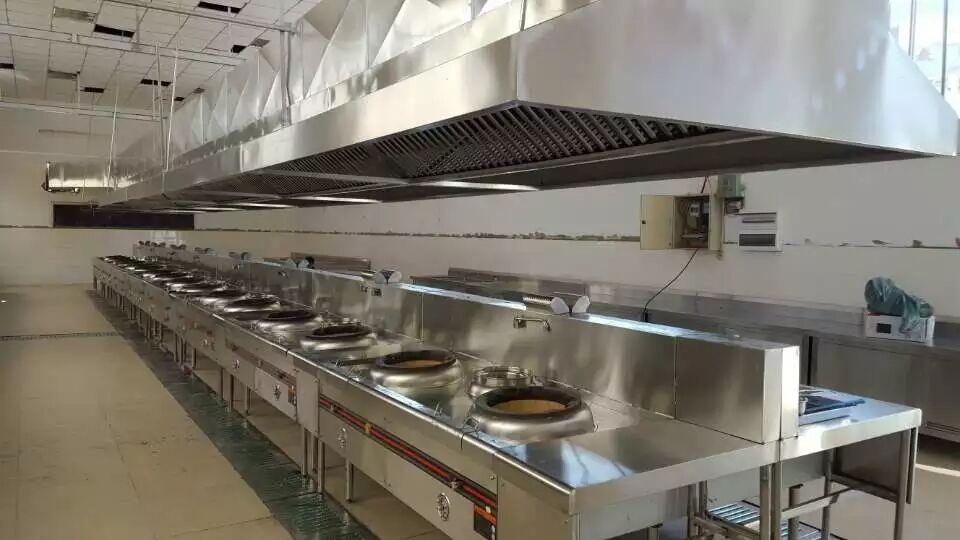 工程案例——學校食堂廚具