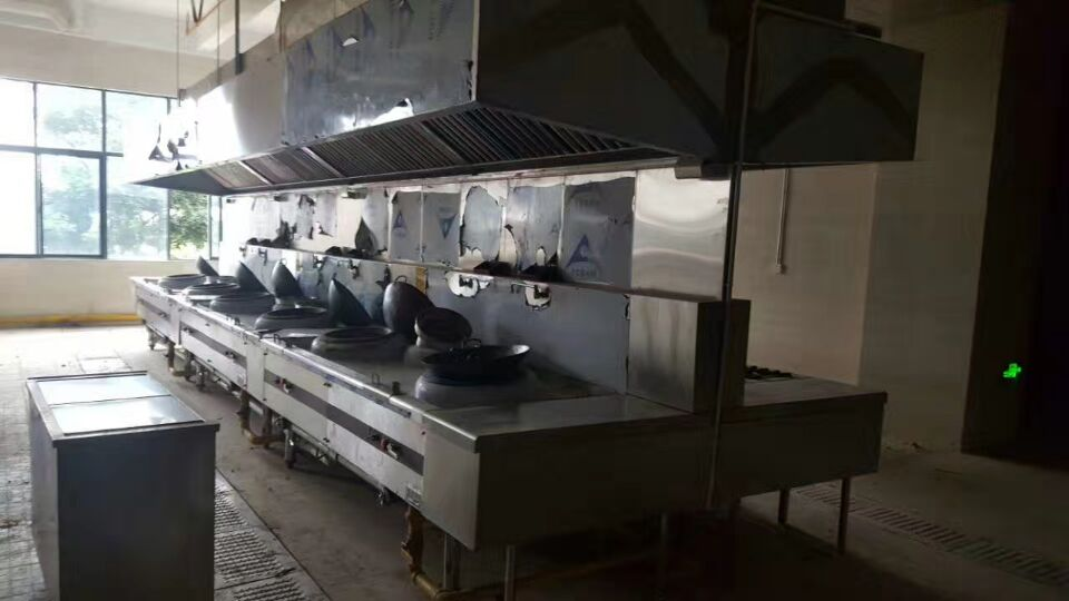 工程案例——公司厨房设备