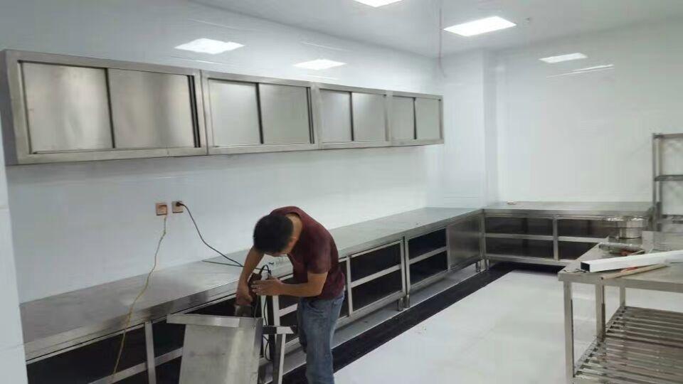 工程案例——昆明厨房设备安装