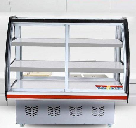 云南不锈钢厨房设备厂-双温多功能展示柜