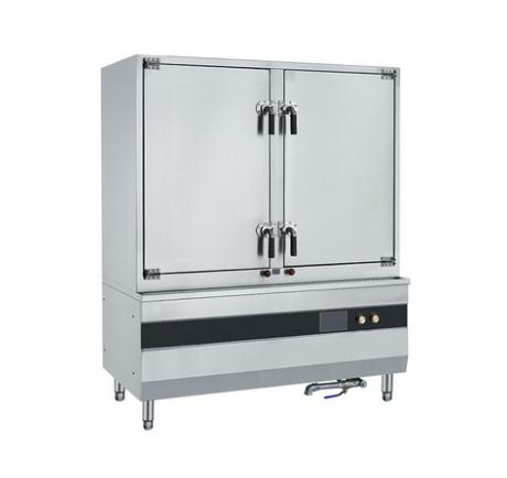 云南厨具批发-双门电磁蒸饭柜24盘