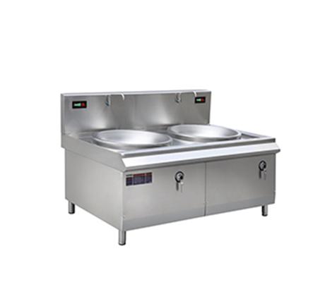 昆明廚具-雙頭電磁大炒爐(灶)