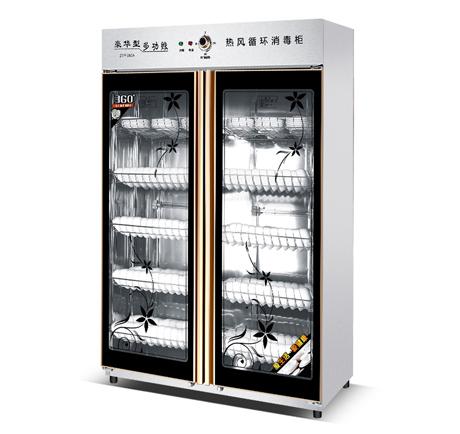 昆明不锈钢厨具厂-双门智能型消毒柜