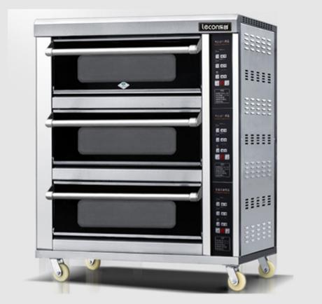 三层三盘烤箱