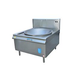 昆明不锈钢厨具厂-单头电磁大炒炉(灶)
