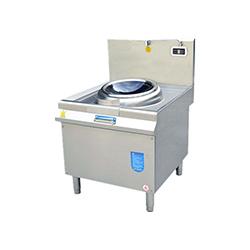 昆明不锈钢厨具厂-单头电磁小炒炉