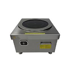 云南不銹鋼廚房設備廠-平爐8KW 380V 大殼旋扭款