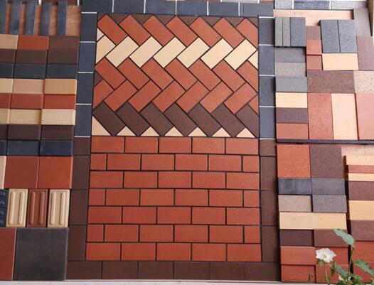 烧结砖产品展示板