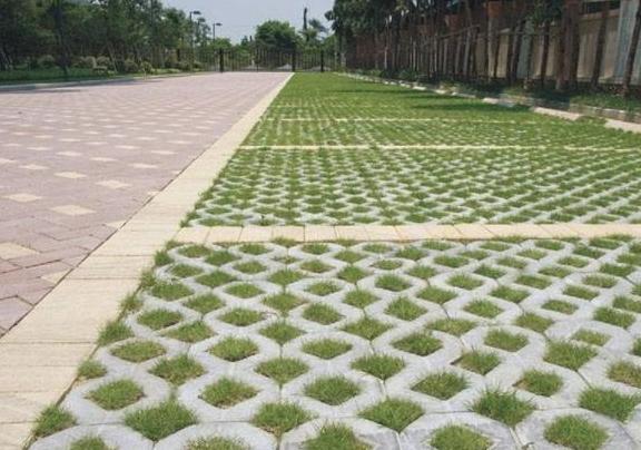 草坪砖的应用范围知识