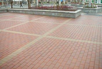 昆明路面砖施工