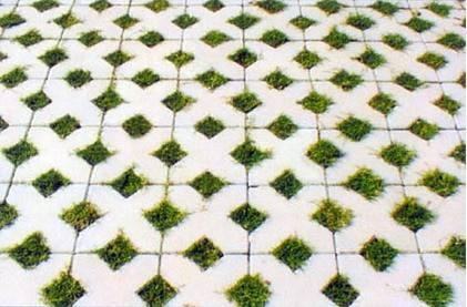 云南植草砖施工