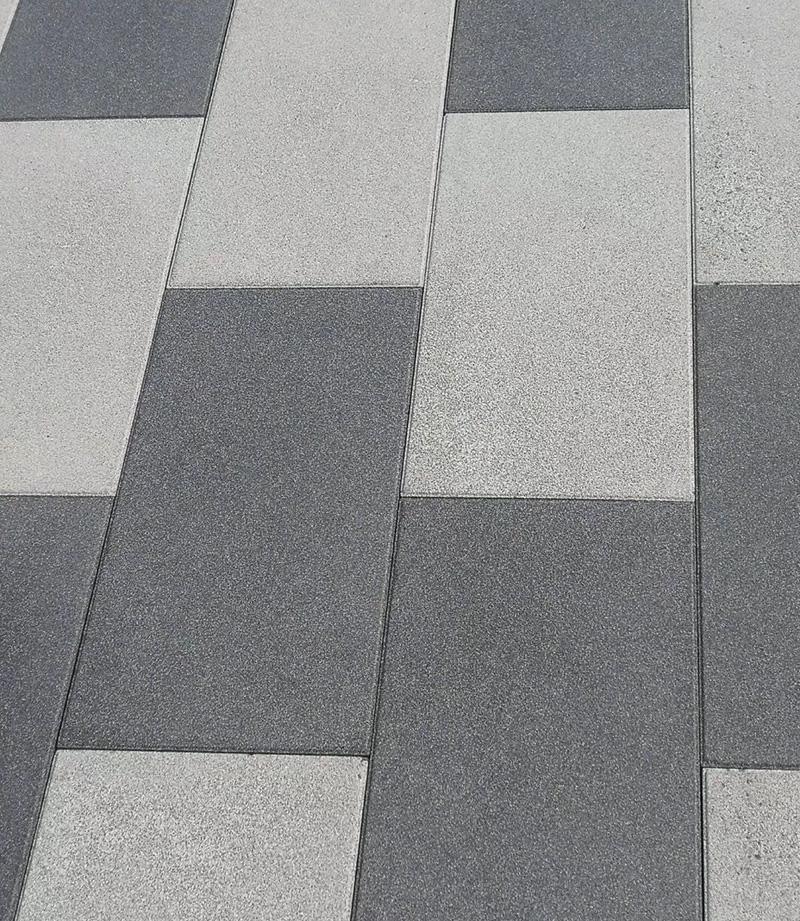 深灰色光面透水砖