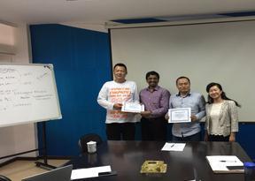 云南瑞讯达通信技术有限公司ISO9001/ISO14001/OHSAS18001认证通过