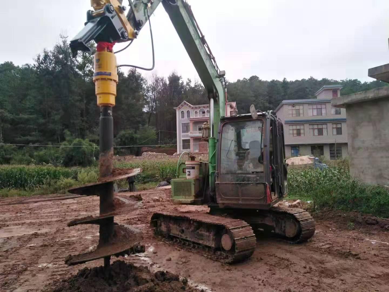 云南挖掘机螺旋钻机