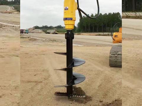 土层螺旋钻机