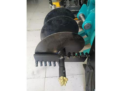 挖机螺旋钻机