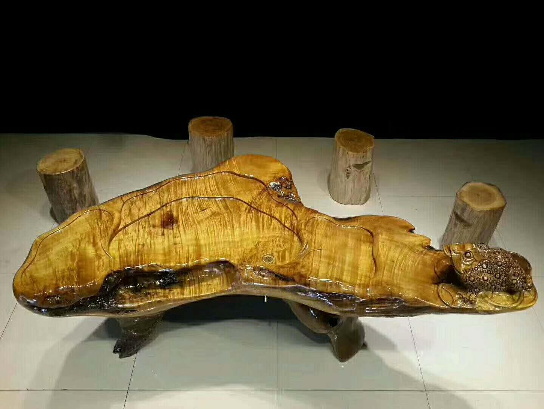 实木桌椅维修1