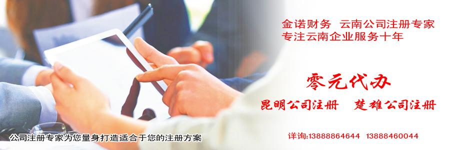 楚雄公司注册图片