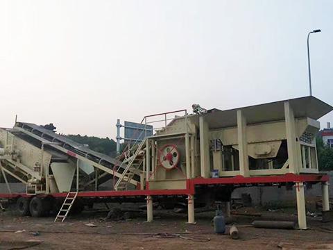 云南轮胎式移动破碎车生产厂家