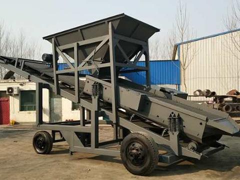 移动式筛沙机械