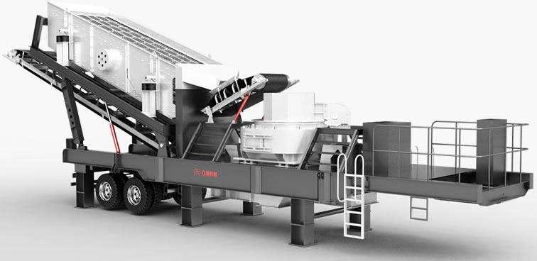 昆明小型移动制砂机一小时产量多少?售价多少?