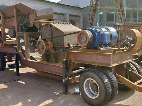 云南移动制砂机日常养护及检修方法