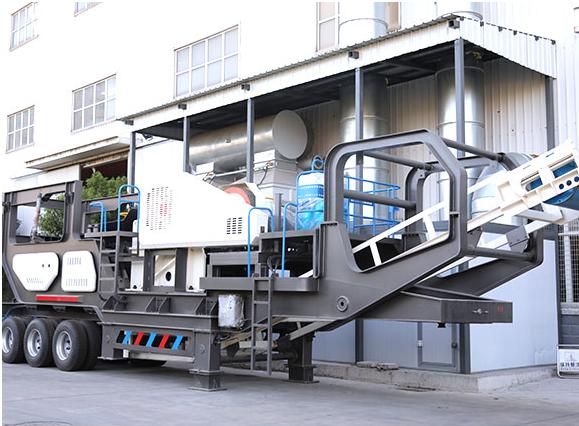 昆明移动制砂机在生产作业中的优势表现