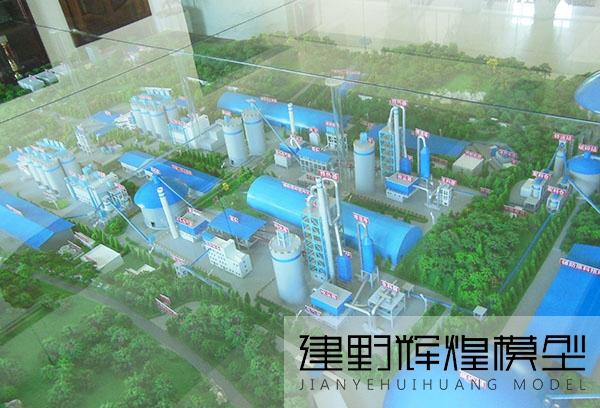 昆明工业机械沙盘模型