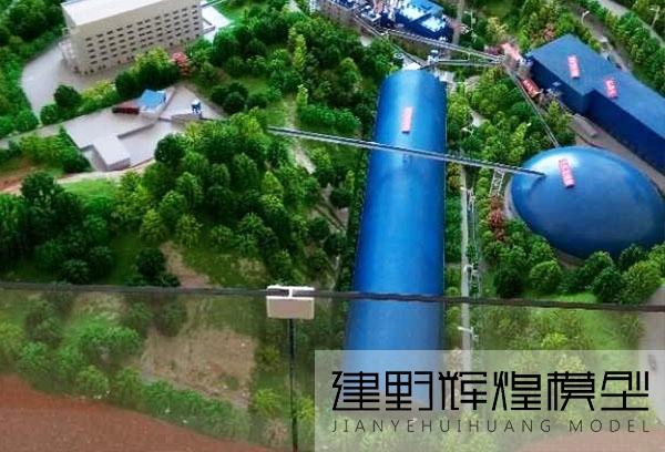 昆明水泥厂沙盘模型
