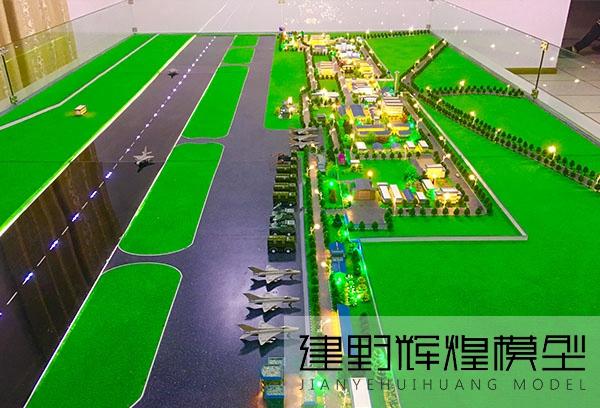 昆明机场展示模型