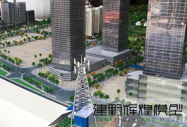 独龙江通讯基站模型